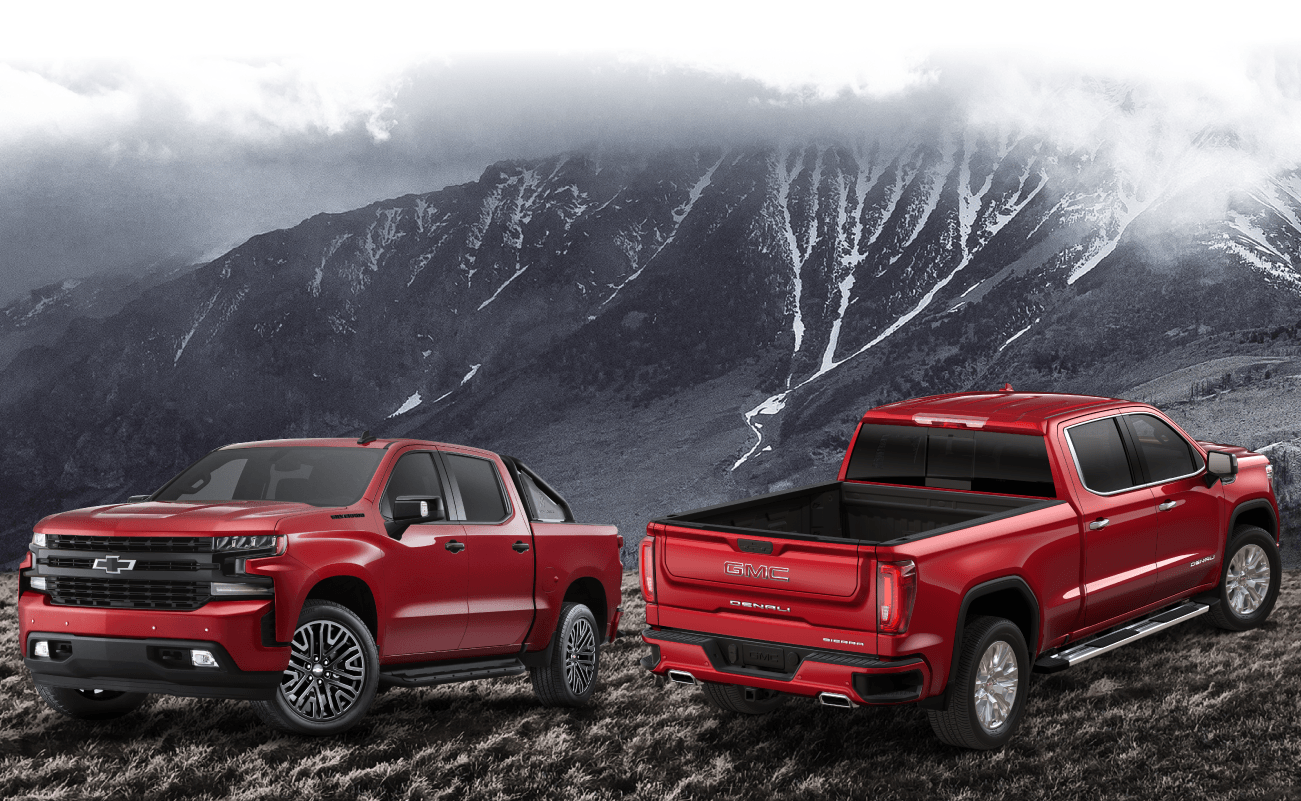 2019 GMC Sierra and 2019 Chevrolet Silverado